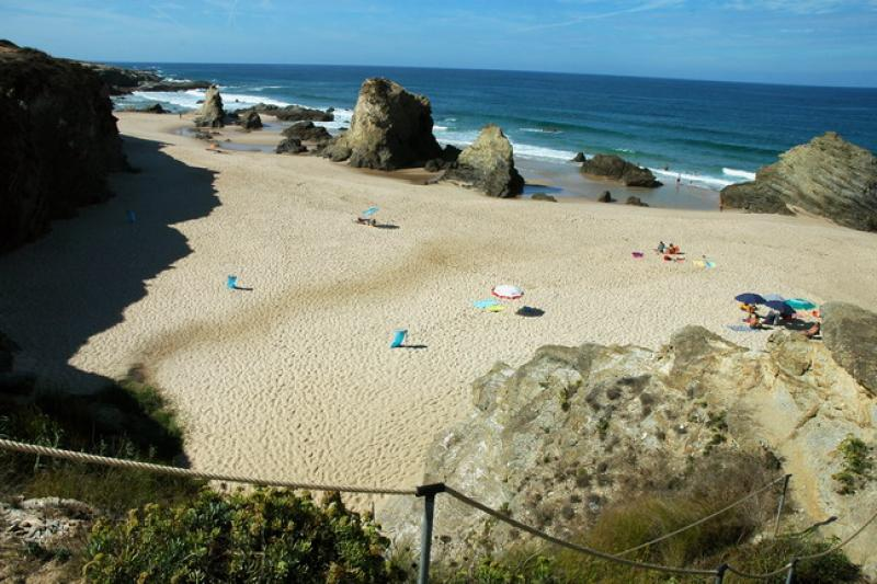 Praia da Samoqueira - Porto Côvo